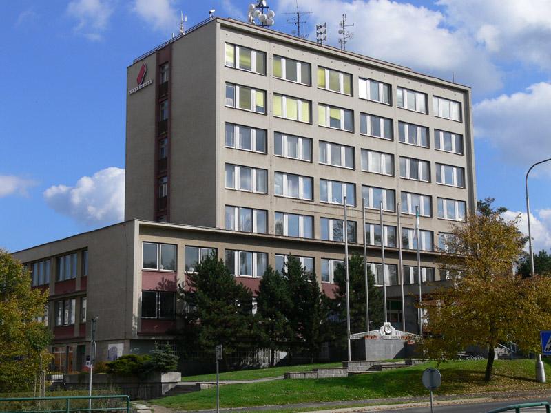 Budova MÚ Sokolov