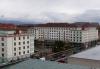 Výměna oken a rekonstrukce fasády v Sokolově, nám., Budovatelů